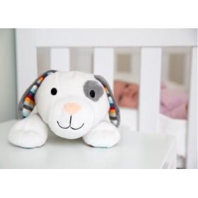 ZA-ZU σκυλάκι με λευκούς ήχους
