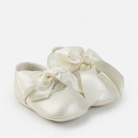 Παπούτσι μπαλαρίνα εκρού