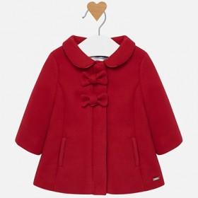 Παλτό κόκκινο με λουλούδι